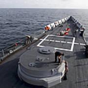 Seamen On The Forecastle Art Print