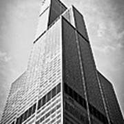 Sears-willis Tower Chicago Print by Paul Velgos
