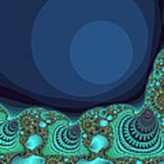 Seashells By The Sea Fractal Art Print