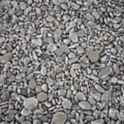 Seashore Rocks Art Print