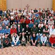 Seattle Archdiocese 2008 Priests. Art Print