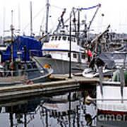 Seattle Fishermans Terminal Art Print
