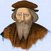 Sebastian Cabot, Italian Explorer Art Print