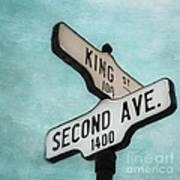 second Avenue 1400 Art Print