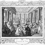 Second Council Of Nicaea Art Print