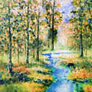 Secret Rivers Art Print