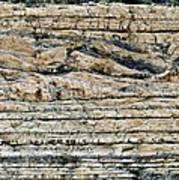 Sedimentary Rock Slumping Art Print