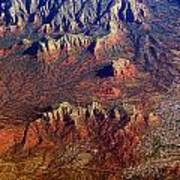 Sedona Arizona Planet Earth Art Print