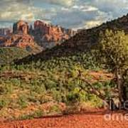 Sedona Red Rock Viewpoint Art Print