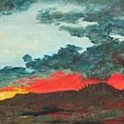 Sedona Sunset Art Print