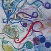 Seedpods In A Breeze Art Print