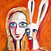Seeking Art Print by Leanne Wilkes