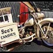 See's Motocycle Art Print