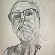 Self Portrait Art Print by Peter Edward Green