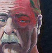 Self Portrait With Shingles Art Print