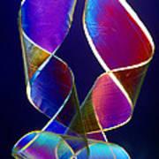 Sellotape, Light Micrograph Art Print
