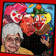 Send In The Clowns Art Print