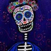 Senorita Frida Art Print