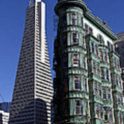 Sentinel Building San Francisco Art Print