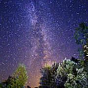 September Night Sky Art Print
