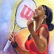 Serena Shines Art Print by Carol Allen Anfinsen