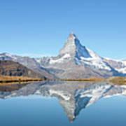 Serene Matterhorn Art Print