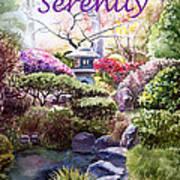 Serenity Art Print by Irina Sztukowski