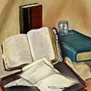 Sermon Preparation Art Print