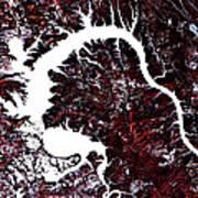 Dragon Lake  Art Print