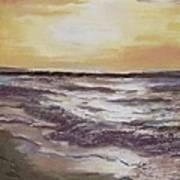 Sesuit Sunset Art Print by Jack Skinner