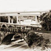 Seven Bridges View Art Print