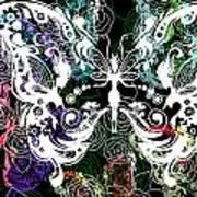 Seven Butterflies Art Print