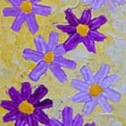 Seven Flowers Art Print