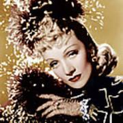 Seven Sinners, Marlene Dietrich, 1940 Art Print by Everett