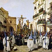 Seville: Good Friday, 1862 Art Print