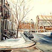 Shaar Hashomayim Westmount Montreal  Art Print
