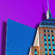Shadow Of The City Art Print