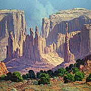 Shadows In The Valley Art Print by Randy Follis