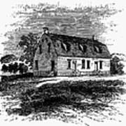 Shaker Church, 1875 Art Print