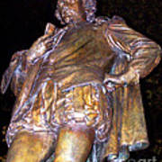 Shakespeare Of Central Park Art Print