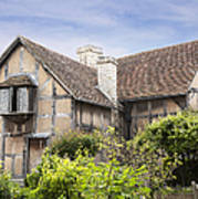 Shakespeare's Birthplace. Art Print by Jane Rix