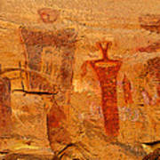 Shamans Of The Rock Art Print