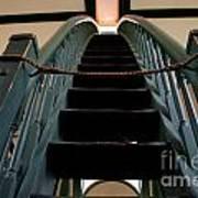 Sharon Temple Stairs Art Print