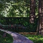 Shaw's Gardens Stone Pathway Art Print