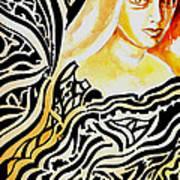 She Art Print by Ayan  Ghoshal