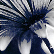She Wore Blue Velvet Art Print