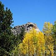 Sheep Nose Mountain In The Autumn Art Print by Donna Parlow