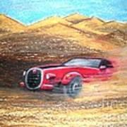 Sheikhs Dirt Racer Art Print