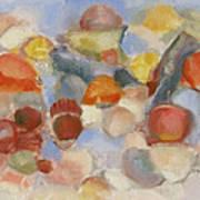 Shell Impresion II Art Print by Susan Hanlon