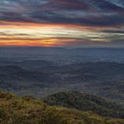 Shenandoah Sunset Art Print by Pierre Leclerc Photography